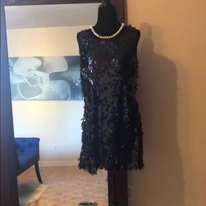 Bianca Nygard petite little black dress